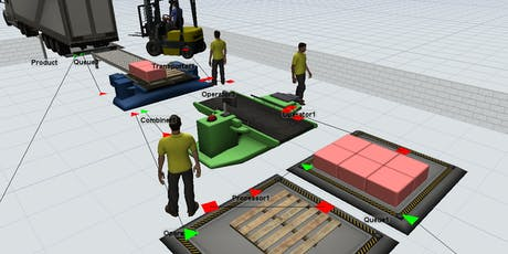Simulation for Manufacturing Companies in conjuction with Flexsim tickets