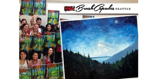 Learn to Paint Mt. Rainier like Bob Ross! (2019-11-23 starts at 7:00 PM)