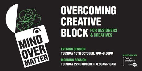 Overcoming Creative Block for Designers and Creatives  tickets