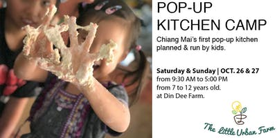 Pop-up Kitchen Camp: Chiang Mai's #1 pop-up kitchen run by kids