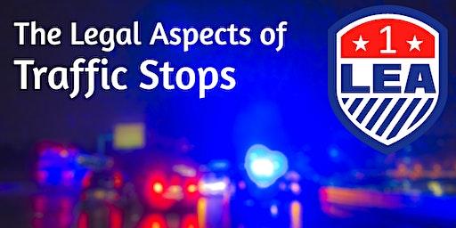 APR 8 Lynchburg Virginia - LEA ONE Legal Aspects of Traffic Stops