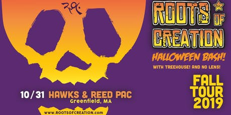 Roots of Creation Halloween Bash with Treehouse! and No Lens tickets