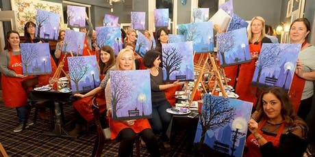Winter Lights Brush Party - Potten End  tickets
