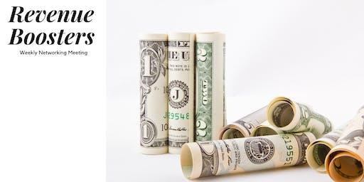 Revenue Boosters Weekly Networking Meeting