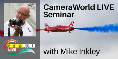 Mike Inkley sponsored by Olympus - CameraWorld Live 2019 tickets