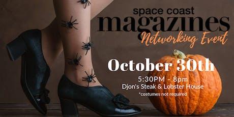 SpaceCoast Magazines Halloween Networking Event tickets