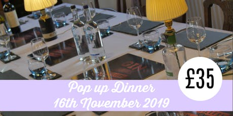 Pop-Up Dinner at The Gin Jamboree Distillery & Gin School tickets