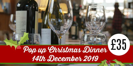 Pop-Up Christmas Dinner at The Gin Jamboree Distillery & Gin School