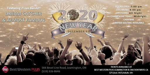 New Year's Eve Bash at Best Western Plus Leamington