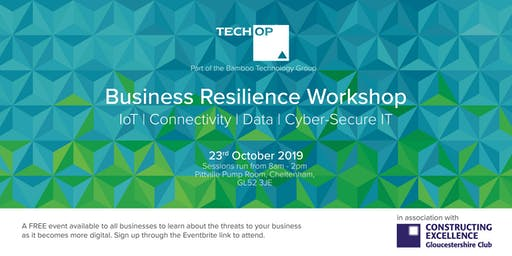 Tech OP delivers Business Resilience Workshop