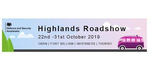 DASA Highlands Roadshow- Oban