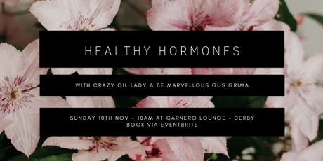 Healthy Hormones tickets