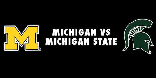 University of Michigan // Michigan State University Tailgating Party!
