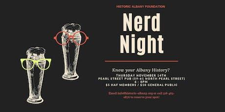 Nerd Night tickets