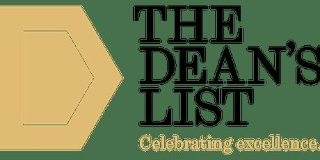 L1 UG: Dean's List Information Session - Semester 2 tickets