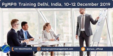 PgMP | Program Management Training | Delhi | December | 2019 tickets