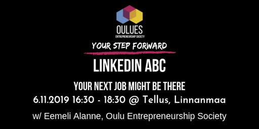 Linkedin ABC -workshop / Your next job might be there