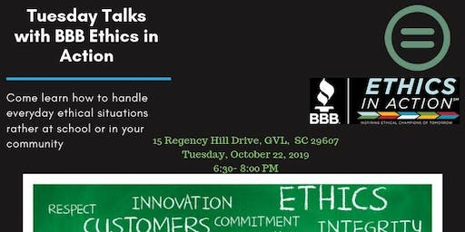 Urban League Project Ready GVL- Tuesday Talks with BBB Ethics in Action