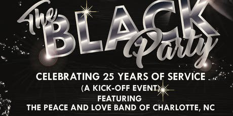 """""""DINING WITH FRIENDS"""" THE BLACK PARTY tickets"""
