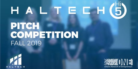 Hi5 Pitch Competition | Fall 2019 tickets