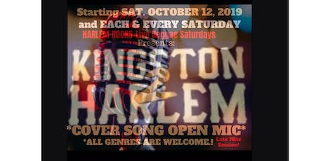 Kingston2Harlem Cover Song Open Mic tickets