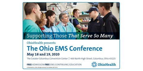 OhioHealth presents The Ohio EMS Conference May 18 & 19, 2020 tickets