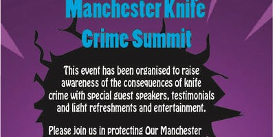It Doesnt Have To Happen - Manchester Knife Crime Summit