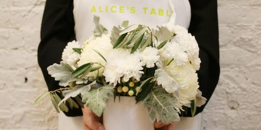 Flowers and Fundraising at the Marblehead Museum with Alice's Table