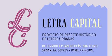 Letra Capital | Tour de Letras en B.A. entradas