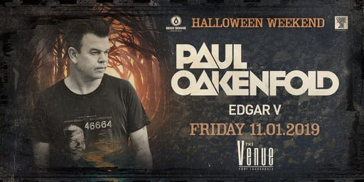 Paul Oakenfold at The Venue Halloween Weekend
