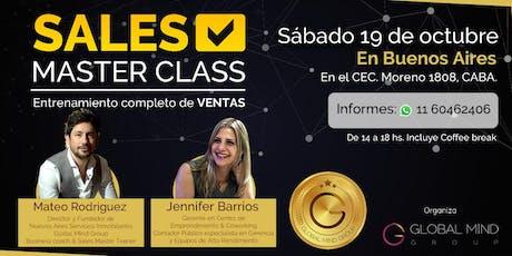 Sales Master Class: Entrenamiento en Ventas entradas