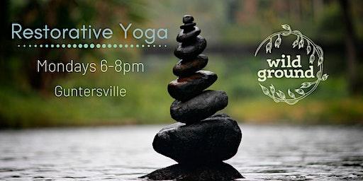 Restorative Yoga in Guntersville