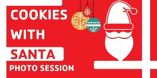 Cookies with Santa &  Holiday Artisan Fair 2019 at Baxter Close YMCA