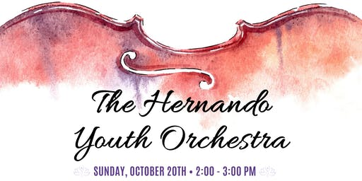 Hernando Youth Orchestra Performance