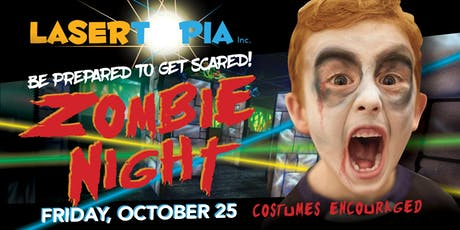 Zombie Night at LaserTopia tickets