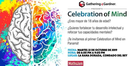 Primer Celebration of Mind en Panamá entradas