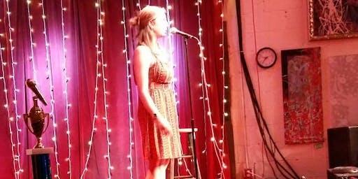 Presenting Atlanta's Christina Schmitt plus Open Mic