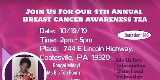 4th Annual Breast Cancer Awareness Tea