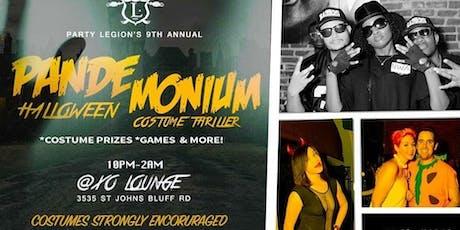 Pandemonium Halloween Costume Thriller tickets