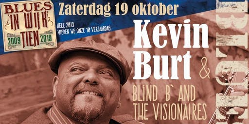 Bluesnight met Richville, Kevin Burt (winnaar IBC 2018) en Blind B' & the Visionairs