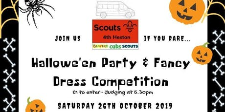 4th Heston Halloween Party and Fancy Dress Competition tickets