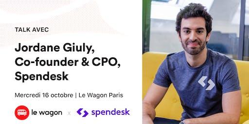 ApéroTalk avec Jordane Giuly, co-founder & CPO de Spendesk