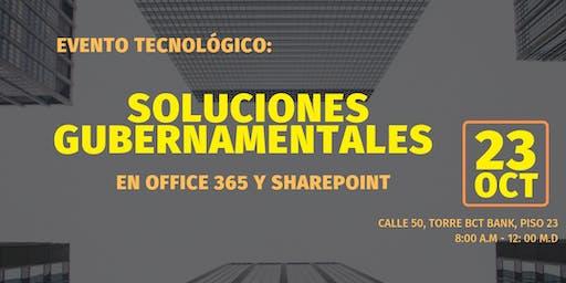 Soluciones Gubernamentales en Office 365 y SharePoint