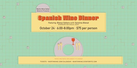 Spanish Wine Dinner tickets