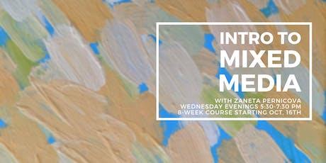 Intro to Mixed Media with Zaneta Pernicova tickets