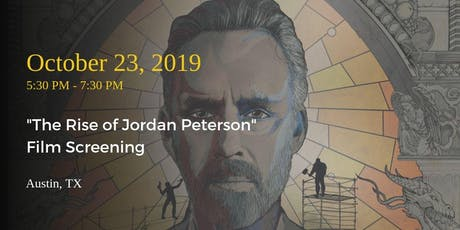 """The Rise of Jordan Peterson"" Film Screening tickets"