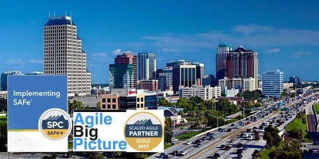 ORLANDO, FLORIDA - Implementing SAFe® with SPC Certification tickets