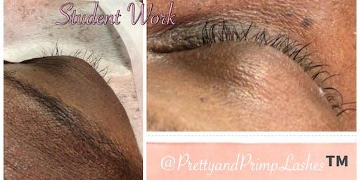 Individual Eyelash Extension Training & Certification