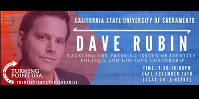 Fundraiser for Turning Point USA at Sacramento State