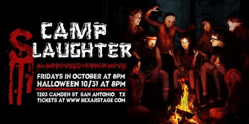 CAMP SLAUGHTER: An Improvised Horror Movie (Improv/Comedy)